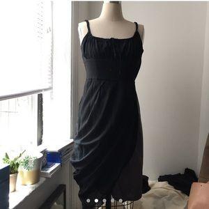 Sportmax asymmetric drape slip dress